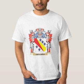 Grazioli Coat of Arms - Family Crest T-Shirt