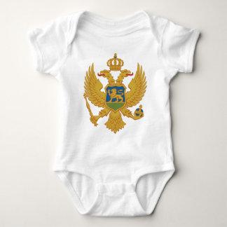 Grb Crne Gore, escudo de armas de Montenegro Remera