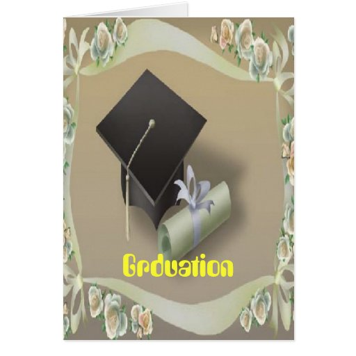 Grduation card