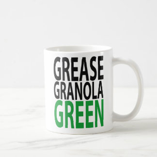 grease, granola, GREEN! Coffee Mug
