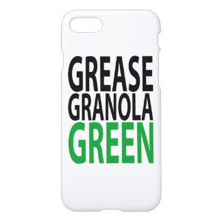 grease, granola, GREEN iPhone 8/7 Case