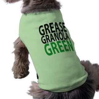 grease, granola, GREEN! Shirt