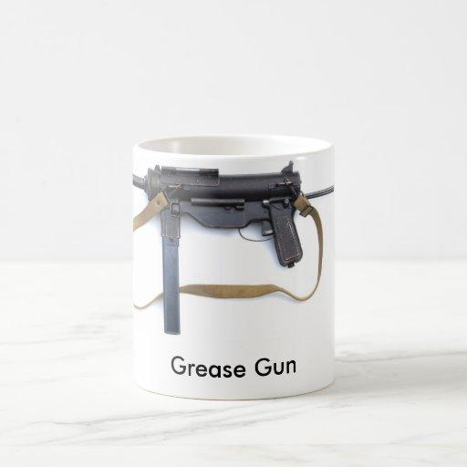 Grease Gun Classic White Coffee Mug