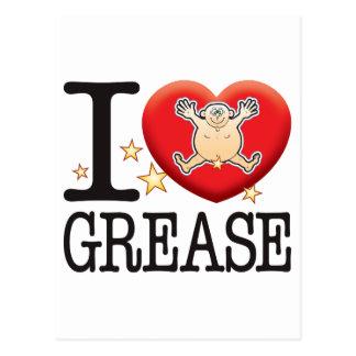 Grease Love Man Postcard