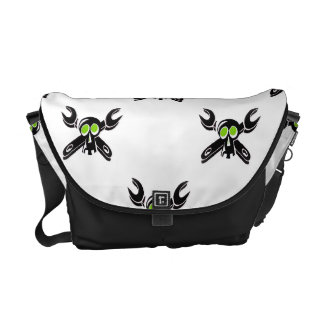 Grease Monkey Boy Courier Bag