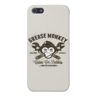 Grease Monkey Custom Cars Chicago iPhone 5/5s iPhone SE/5/5s Cover