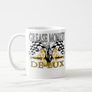 grease monkey de-lux coffee mug