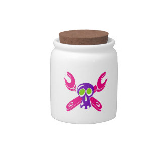 Grease Monkey Girl Candy Jar