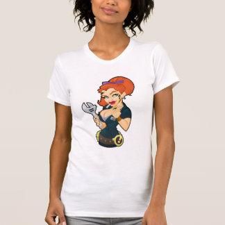 Grease Monkey Girl T-Shirt
