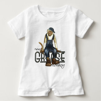 Grease Monkey Mechanics Babies Tees