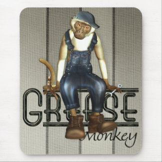 Grease Monkey Mousemat Mouse Pad