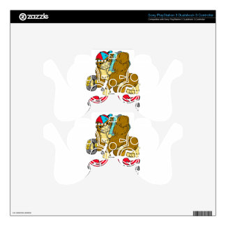 Grease Monkey PS3 Controller Skins