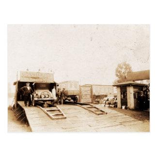 Grease Station Benton Harbor Michigan Postcard