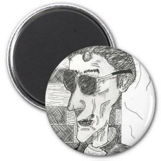 Greaser 2 Inch Round Magnet