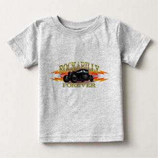 Greaser Rockabilly Hot Rod Baby T-Shirt