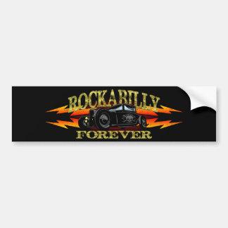 Greaser Rockabilly Hot Rod Bumper Sticker