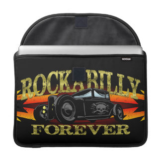 Greaser Rockabilly Hot Rod Sleeves For MacBook Pro