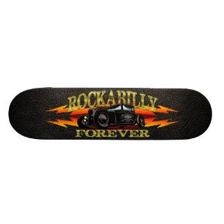 Greaser Rockabilly Hot Rod Skateboard