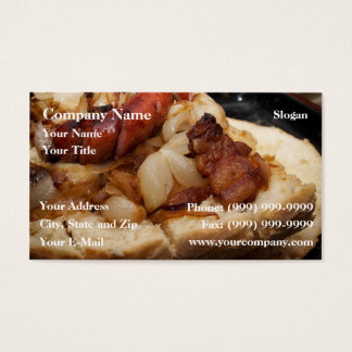 Greasy bread business card