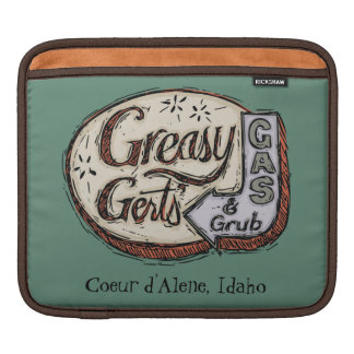Greasy Gert's Vintage Sign Sleeve For iPads