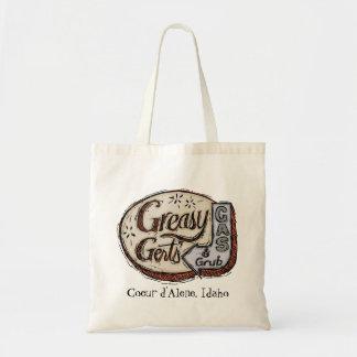Greasy Gert's Vintage Sign Tote Bag