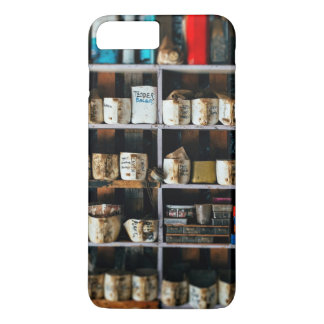 Greasy, oily containers on a shelf iPhone 8 plus/7 plus case