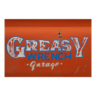 Greasy Wrench Poster
