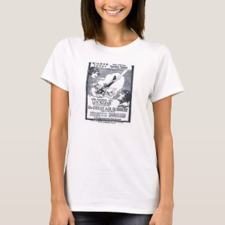 """Great Air Robbery"" 1919 vintage movie ad T-shirt"