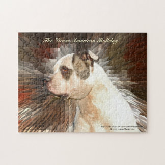 Great American Bulldog Jigsaw Puzzle