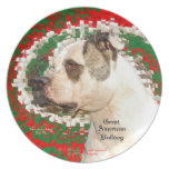 Great American Bulldog Party Plates