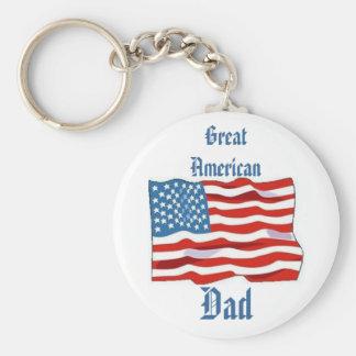 Great American Dad Keychain