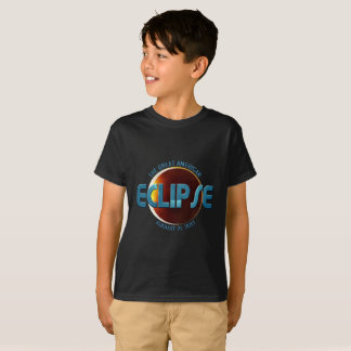 Great American Eclipse Kid's Shirts - BLU