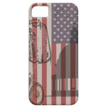 Great American Flag Vintage Art 5s Case