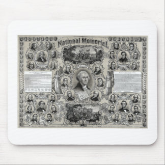 Great American Presidents Mousepads