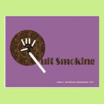 Great American Smokeout Day Postcard