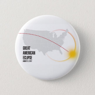 Great American Solar Eclipse 2017 Button