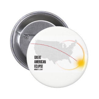 Great American Solar Eclipse 2017 Button