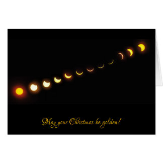 Great American Solar Eclipse Christmas Card