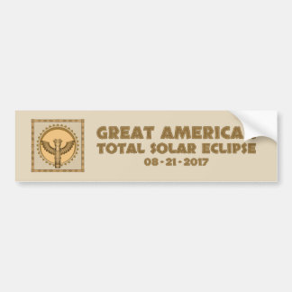 Great American Total Solar Eclipse - 2017 Bumper Sticker