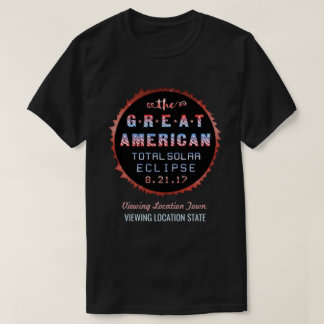 Great American Total Solar Eclipse August 21 2017 T-Shirt