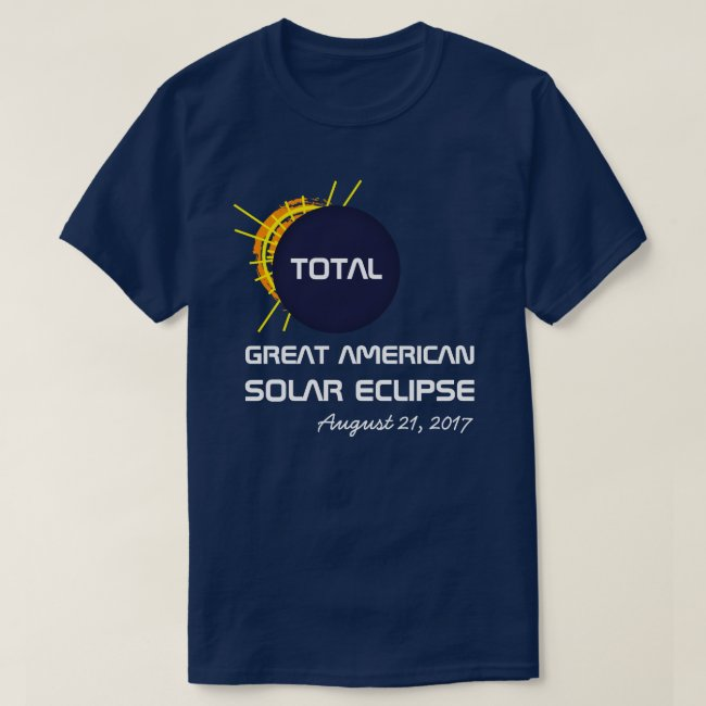 Great American Total Solar Eclipse customizable
