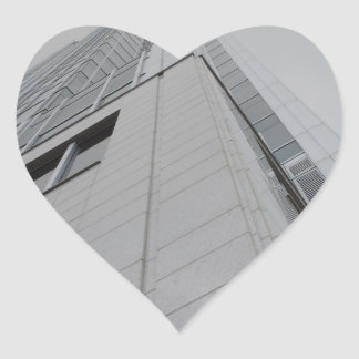 Great American Tower at Queen City Square Heart Sticker