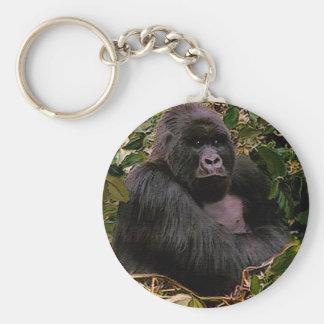 Great Apes Gorilla Primate Wildlife-lover keychain