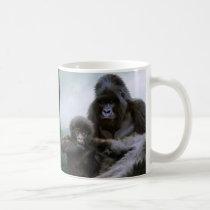 GREAT APES Mountain Gorilla & Baby Gorilla Coffee Mug