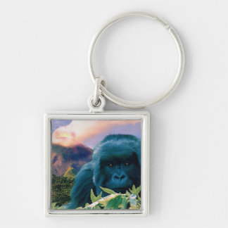 Great Apes Mtn Gorilla Primate Wildlife Keychain