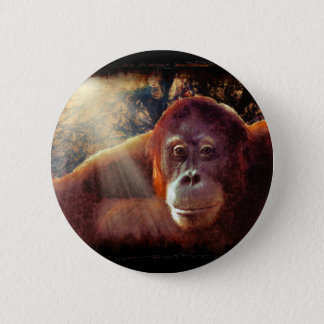 Great Apes Primate Wildlife-lovers Gift Button