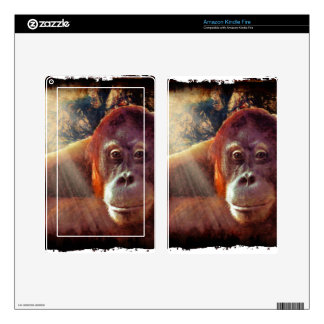 Great Apes Primate Wildlife-lovers Gift Skin For Kindle Fire