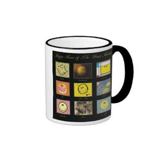 great artist happy face mug