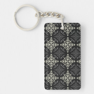 Great Attractive Trusting Sensible Double-Sided Rectangular Acrylic Keychain