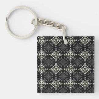 Great Attractive Trusting Sensible Single-Sided Square Acrylic Keychain